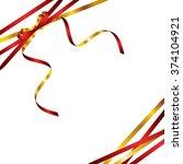 ribbon background | Shutterstock .eps vector #374104921