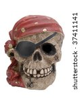 Halloween Pirate Skull