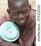 Small photo of Mopti, Mali-Aug.26, 2011. Malian children