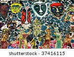an aboriginal picture made of... | Shutterstock . vector #37416115
