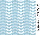 seamless zigzag pattern  vector ... | Shutterstock .eps vector #374174935