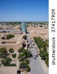 The sight of Khiva - stock photo