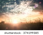 tomorrow and future concept ... | Shutterstock . vector #374199385
