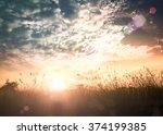world environment day concept ... | Shutterstock . vector #374199385