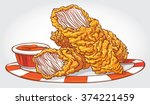 hand drawn vector illustration... | Shutterstock .eps vector #374221459
