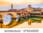 Verona  Italy. Scenery With...