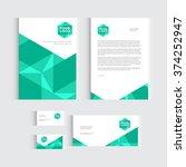 brochure  flyer or report for...   Shutterstock .eps vector #374252947