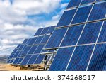 photovoltaic power plant | Shutterstock . vector #374268517