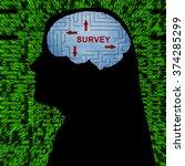 survey in mind | Shutterstock . vector #374285299