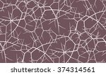 seamless pattern with branches... | Shutterstock .eps vector #374314561