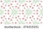 Abstract flowers pattren