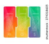 vector paper progress steps for ...   Shutterstock .eps vector #374318605