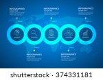 design infographic template.... | Shutterstock .eps vector #374331181