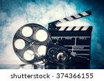 retro film production...   Shutterstock . vector #374366155