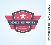 Home Security Badge. Ultimate...