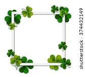 happy saint patrick's vector... | Shutterstock .eps vector #374432149