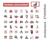 training development  business... | Shutterstock .eps vector #374433964
