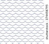 wave blue pattern. sea...   Shutterstock .eps vector #374458795