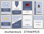 corporate identity vector... | Shutterstock .eps vector #374469925