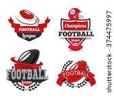 vector set badges logos...   Shutterstock .eps vector #374475997