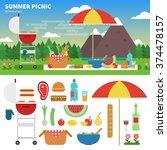geometric illustartion of... | Shutterstock .eps vector #374478157