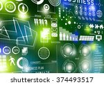 innovative technologies | Shutterstock . vector #374493517