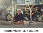 old women demonstrate to...   Shutterstock . vector #374502325