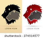 Head Lion And Lioness Graphic...
