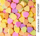 Colorful Candy Hearts....