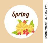 spring season design  | Shutterstock .eps vector #374552194