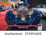 maastricht  netherlands  ... | Shutterstock . vector #374591605