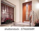 House Front Door In Modern...