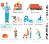 info graphic of business... | Shutterstock .eps vector #374661187