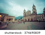 Bolivar Square Bogota Central Square - Fine Art prints
