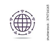 wifi icon | Shutterstock .eps vector #374716165