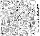 objects doodle set