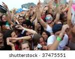 brooklyn  ny   august 23  dj... | Shutterstock . vector #37475551