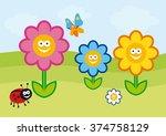 funny spring illustration....
