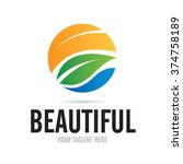 Logo Beautiful Nature Icon...