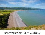 Porlock Beach Somerset England...