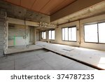 being renovated house | Shutterstock . vector #374787235