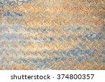 rusted metal texture  | Shutterstock . vector #374800357