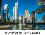 Jumeirah Lakes Towers In Dubai...