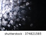 bokeh of water fly and lights... | Shutterstock . vector #374821585