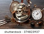 hour workshop. vintage still...   Shutterstock . vector #374823937