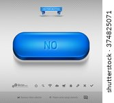 business web button for website ... | Shutterstock .eps vector #374825071