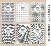 pattern print. patternart.... | Shutterstock .eps vector #374846635