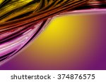 abstract elegant wave... | Shutterstock . vector #374876575