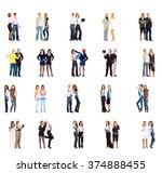 people diversity corporate... | Shutterstock . vector #374888455