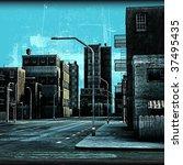 street grunge | Shutterstock . vector #37495435